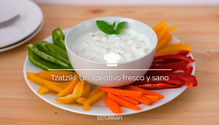 Tzatziki. Un aperitivo fresco y sano