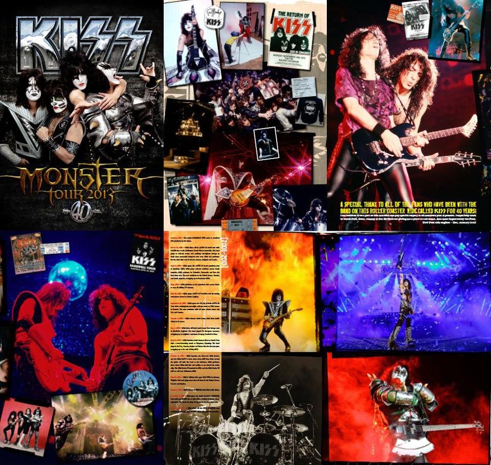 Kiss Th Anniversary Tour Book