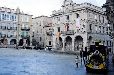Ourense plaza mayor
