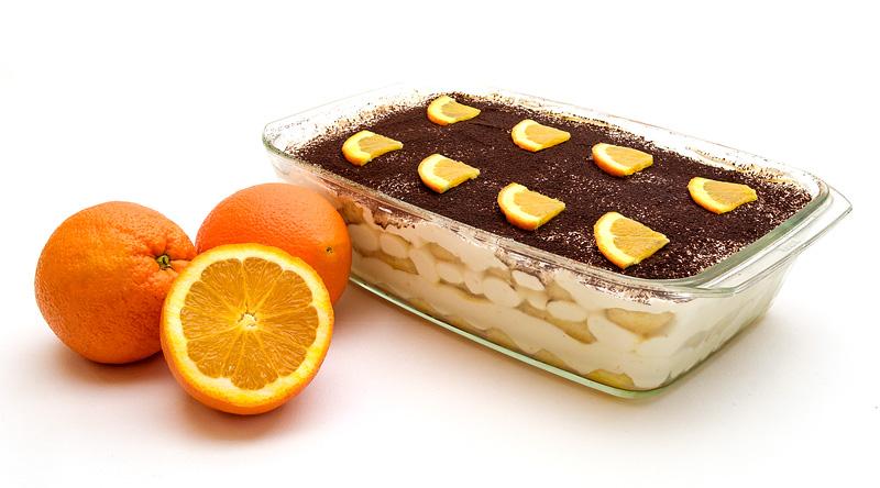 Orange tiramisu / Pomarančni tiramisu
