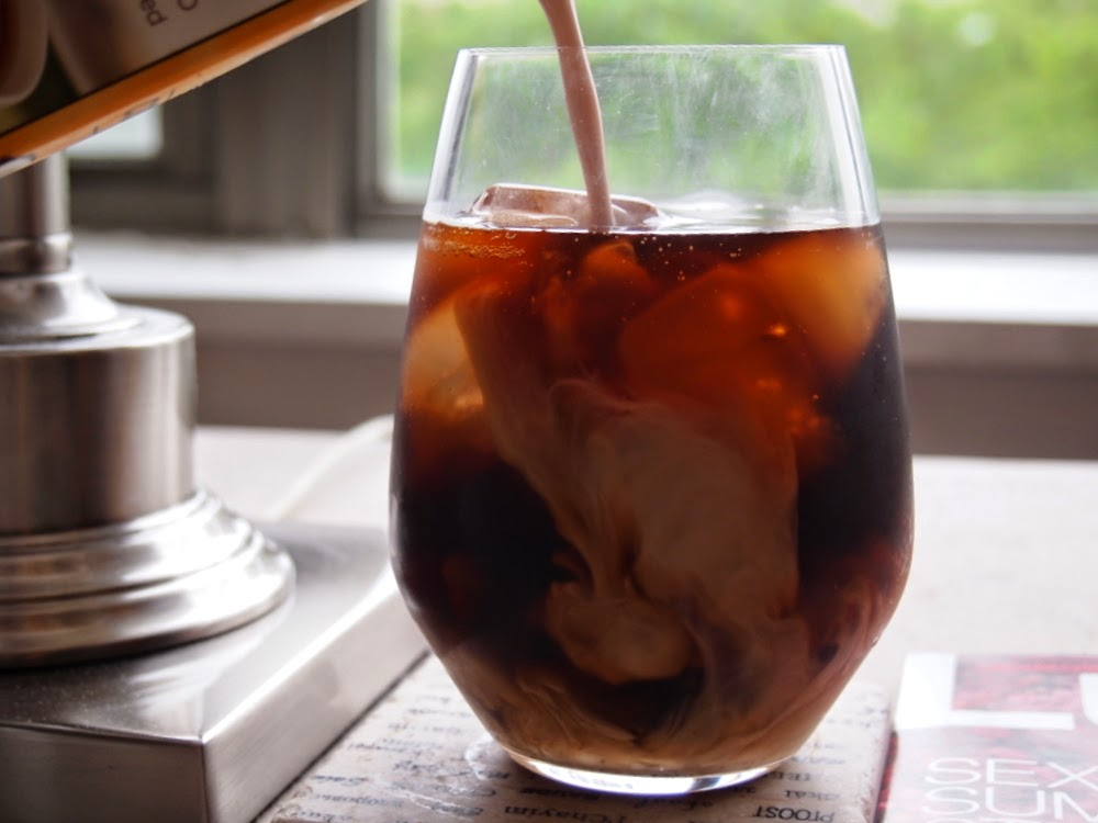 Lake Shore Lady: Cold Brew Iced Coffee Concentrate