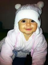 Mi bebota de siete meses Alexia