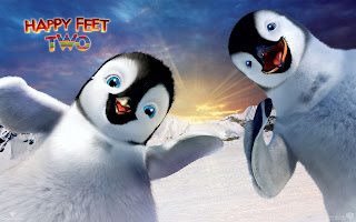 Happy Feet Two Cute Little Penguins HD Wallpaper