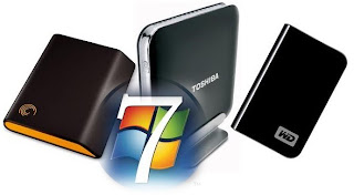 Cara Instal Windows 7 Via Hard Disk Drive (HDD) Eksternal