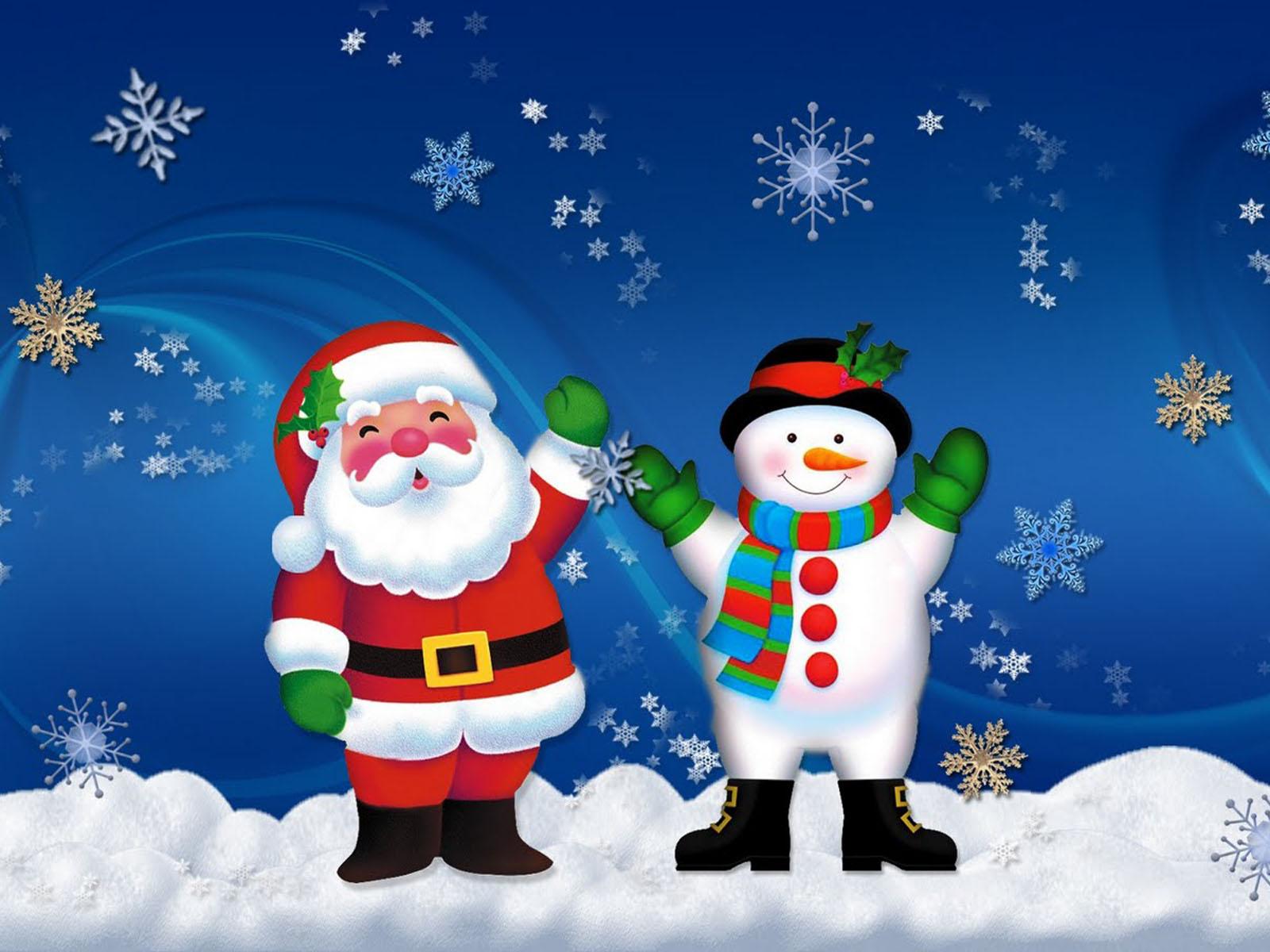 Christmas Snowman Wallpaper gallery