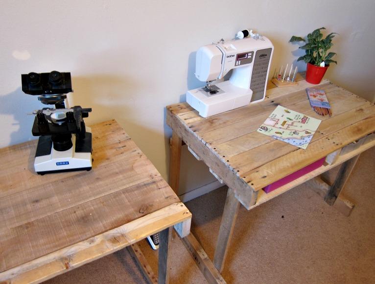Gallery For > Pallet Desk