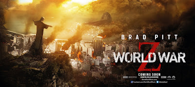 World War Z Rio Banner Poster