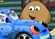 Pou Car Wash And Spa juego