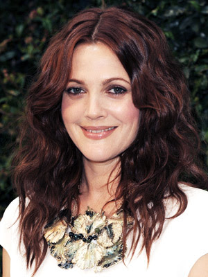 Drew Barrymore Piece-Y Waves Hairstyle