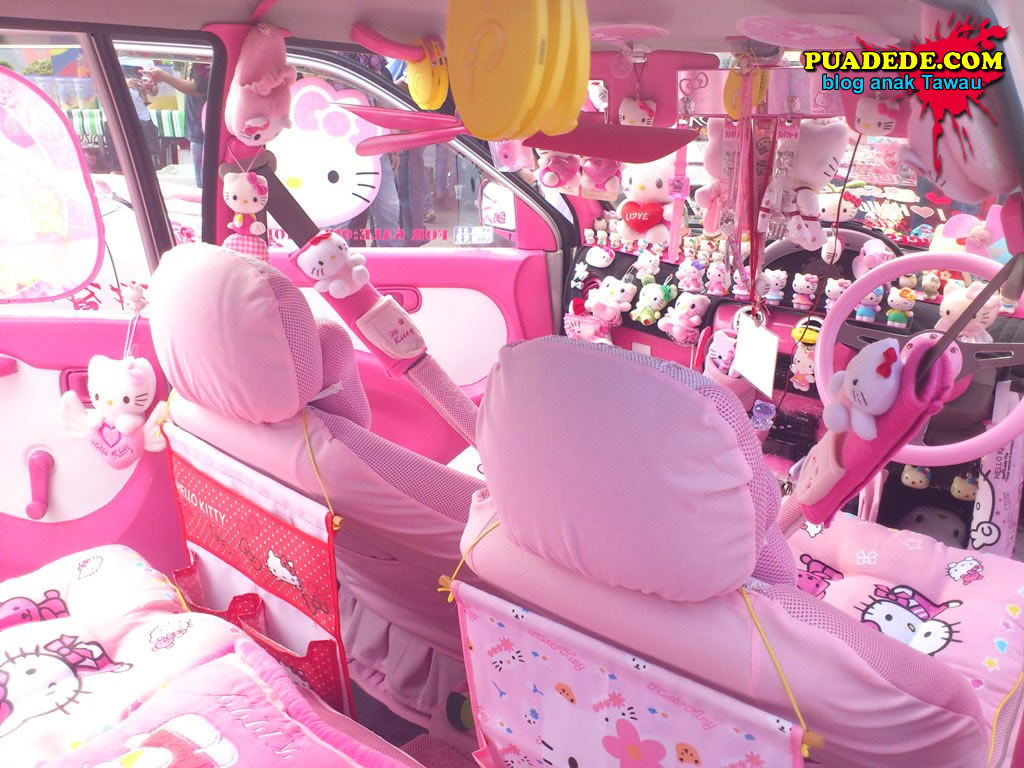 female motoring hello kitty concept. Black Bedroom Furniture Sets. Home Design Ideas