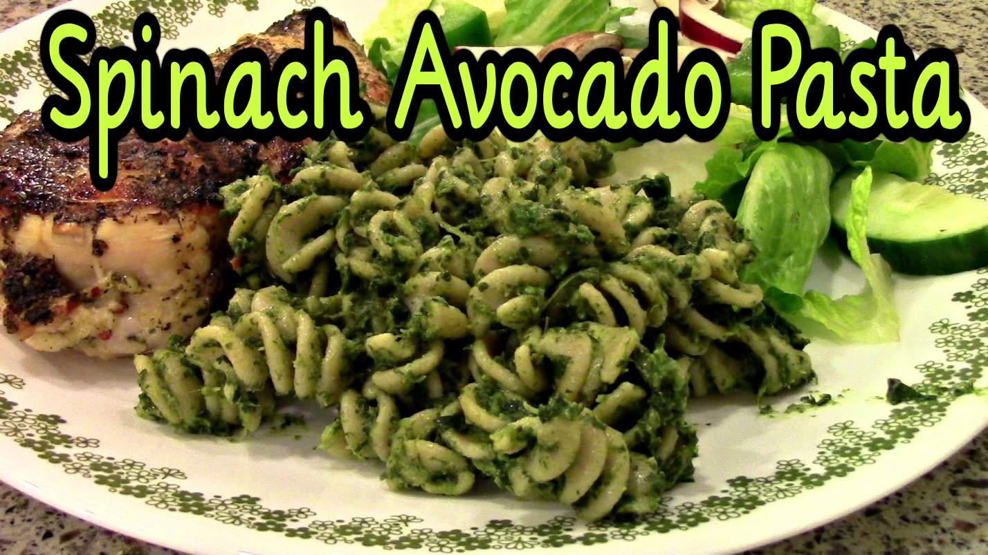 how to cook frozen spinach with pasta