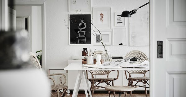 A stunning Swedish apartment in neutrals