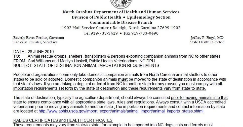 Nc Shelter Rescue Inc Rabies Vaccinations And Health Certs Are A