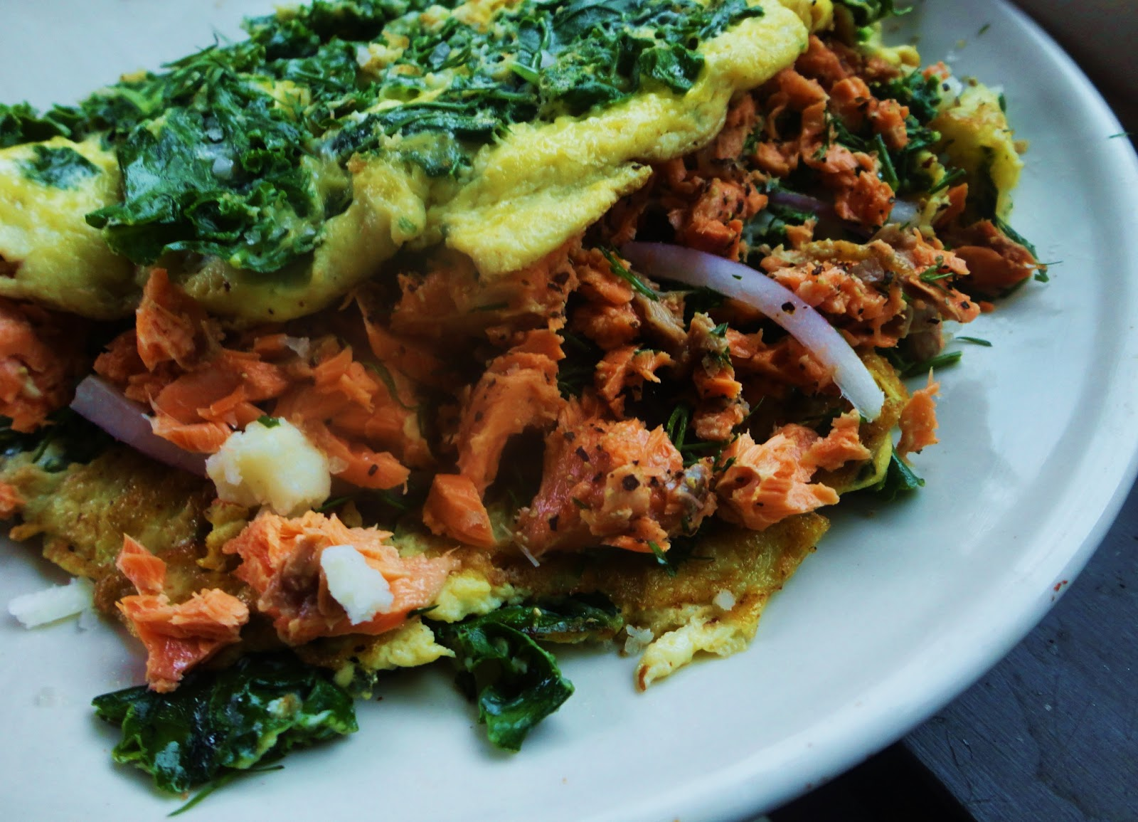 Smoked Salmon Omelet | Rising Moon Nutrition