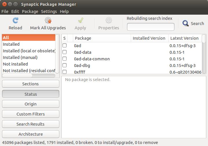 Cara menginstall Synaptic di Ubuntu 14.04 LTS Trusty Tahr