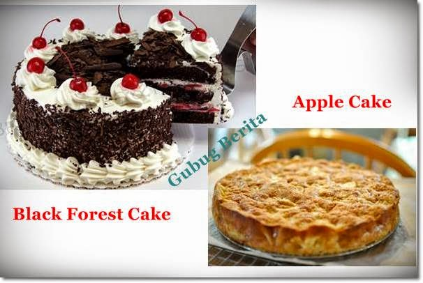 "Kumpulan Resep Kue ""Black Forest Cake dan Apple Cake"""