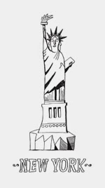 http://www.istockphoto.com/vector/statue-of-liberty-in-the-city-of-new-york-usa-53020480