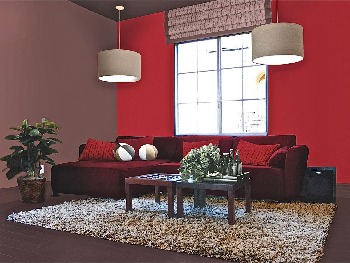 Pavimento Rosso Colore Pareti : Arredo in come scegliere il colore di pareti soffitto e pavimento