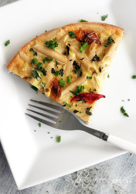 Gluten free dairy free baked frittata