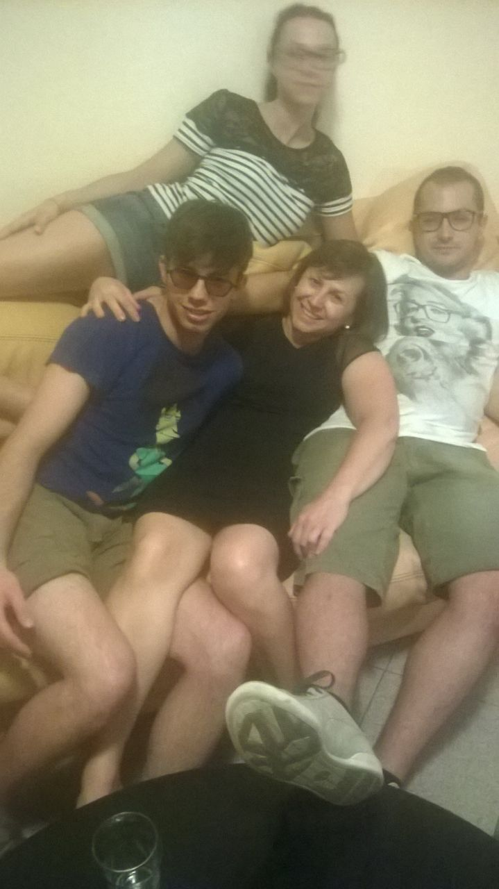 Chiara, Giacomo e Lorenzo