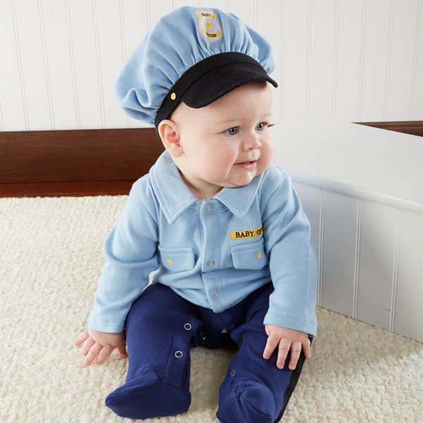 """Big Dreamzzz"" Baby Officer 2-Pieces Layette Set"