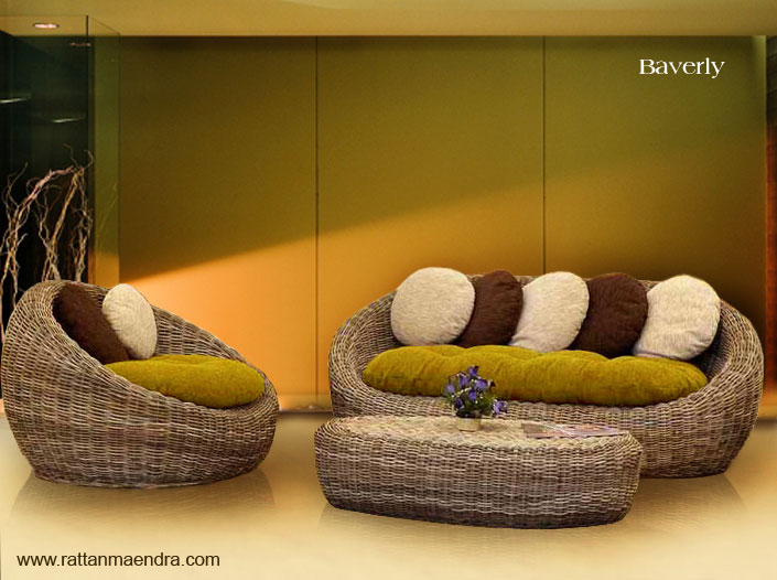 Cool Rattan Living Room Furniture By RattanMaendra