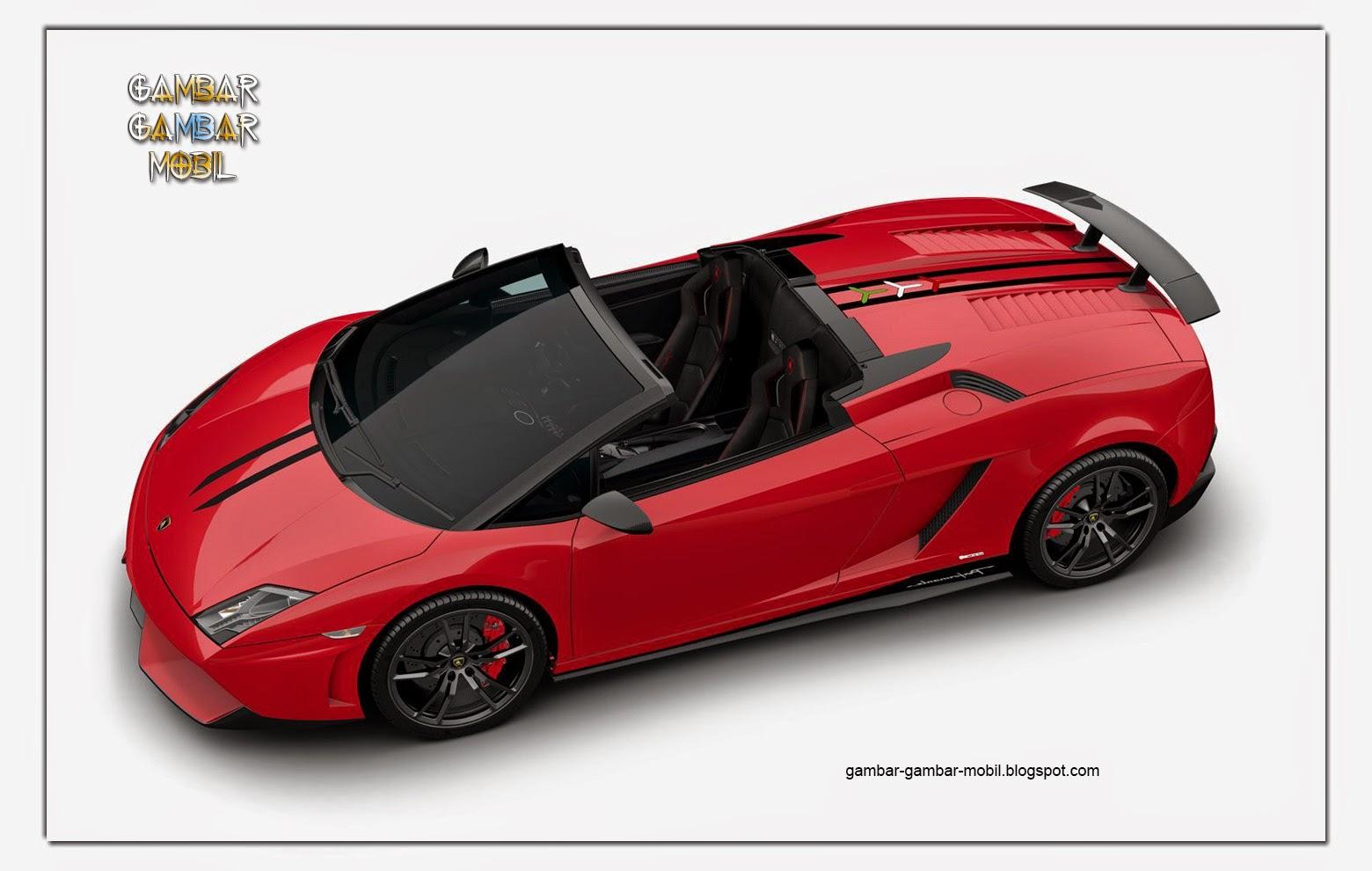 gambar mobil balap lamborghini gallardo LP 570-4 Spyder Performante Edizione Tecnica