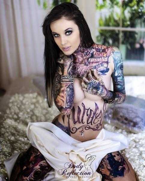 Rachelle Nicole Hoffman Tattoos
