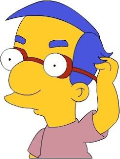 Even Millhouse had difficulties with this exercise