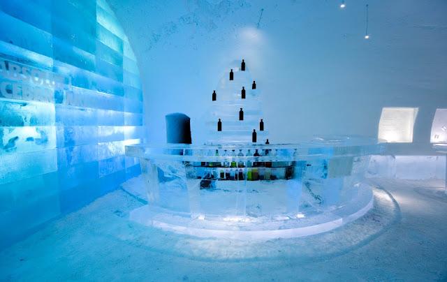 Gli hotel di ghiaccio