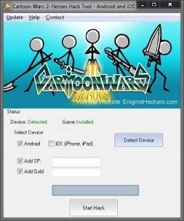 Cartoon Wars Android Cheats