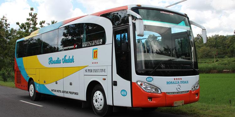 Tiket Bus Rosalia Indah Dengan Jadwal
