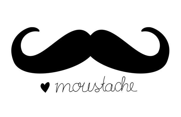 Corazonadas complementos le moustache - Dessin de moustache ...