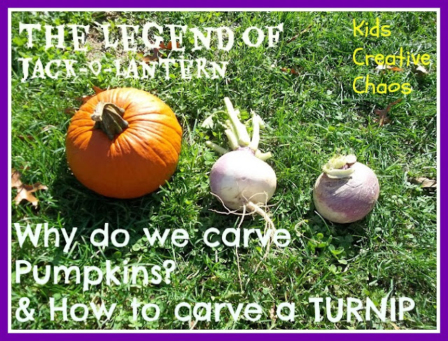 Why do we carve pumpkins?