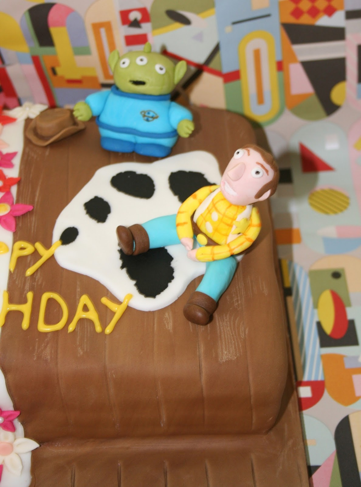 Hello Kitty And Toy Story Jessie Images : Chintzy cakes toy story and hello kitty cake