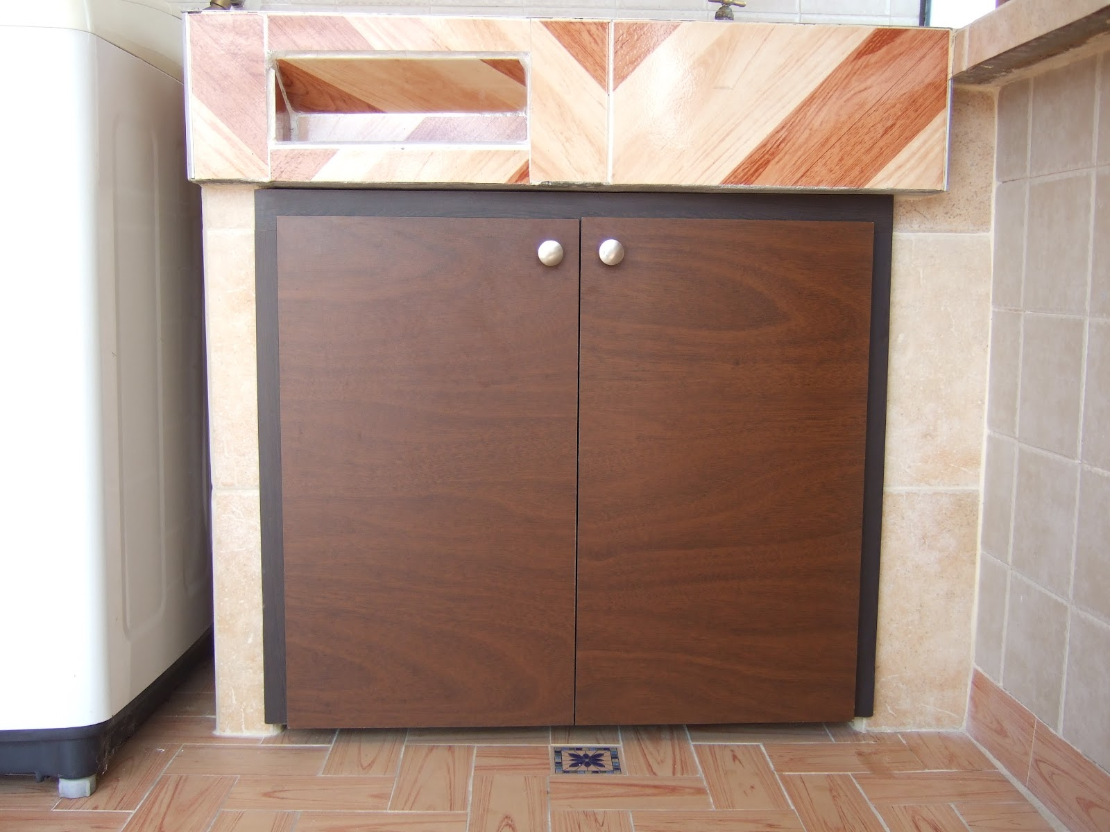 Mueble para pila de lavar good finest good pica de lavar roca posot class ue mueble para - Mueble pila lavadero ...