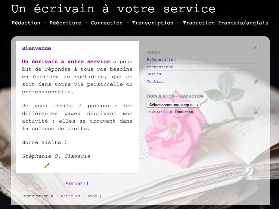 http://unecrivainavotreservice.blogspot.fr