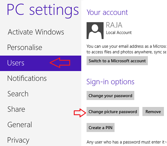 keep windows login secure password