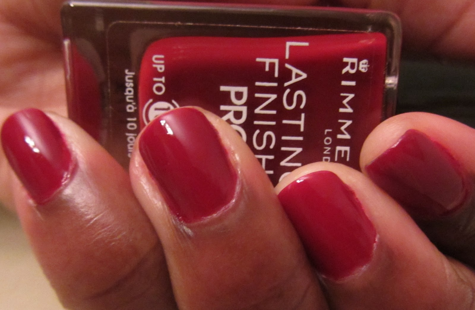 Kikistyles: Rimmel London Pro Nail Polish Burgundy Flirt Review and ...