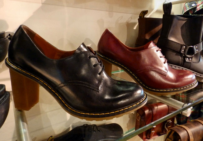 Dr Martens Liverpool One store review Jinelle heeled shoes