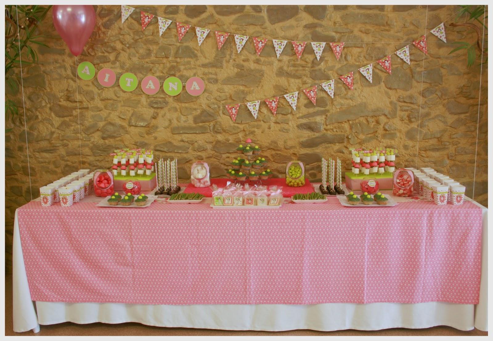 Cosas con encanto fiesta de primera comunion con candy - Ideas decoracion bar ...