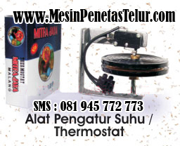 Thermostat Penetas Telur Mitra Jaya : Thermostat