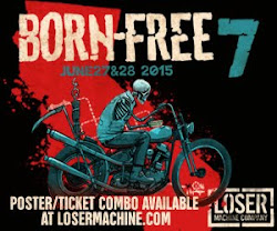 2015 BORN-FREE GIVEAWAY PROMO POSTER/TICKETS