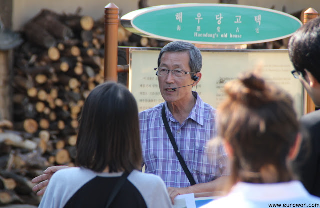 Guía de la aldea tradicional Museom de Corea del Sur