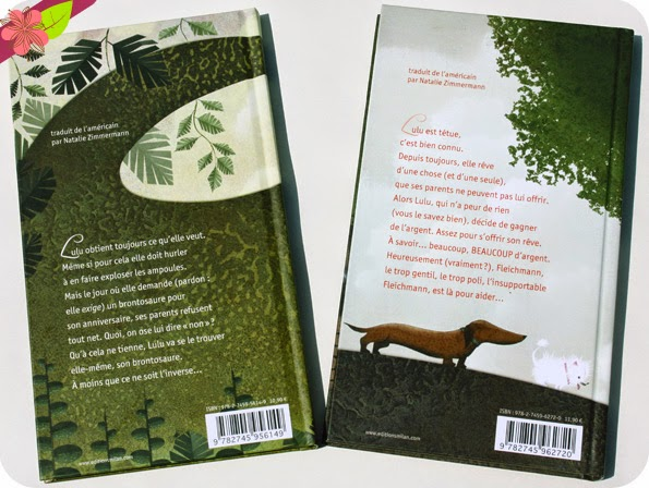 """""""Lulu n'a peur de rien"""" et """"Lulu et le Brontosaure"""" de Judith Viorst et Lane Smith"""