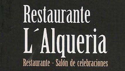RESTAURANTE L'ALQUERIA (L'ELIANA)