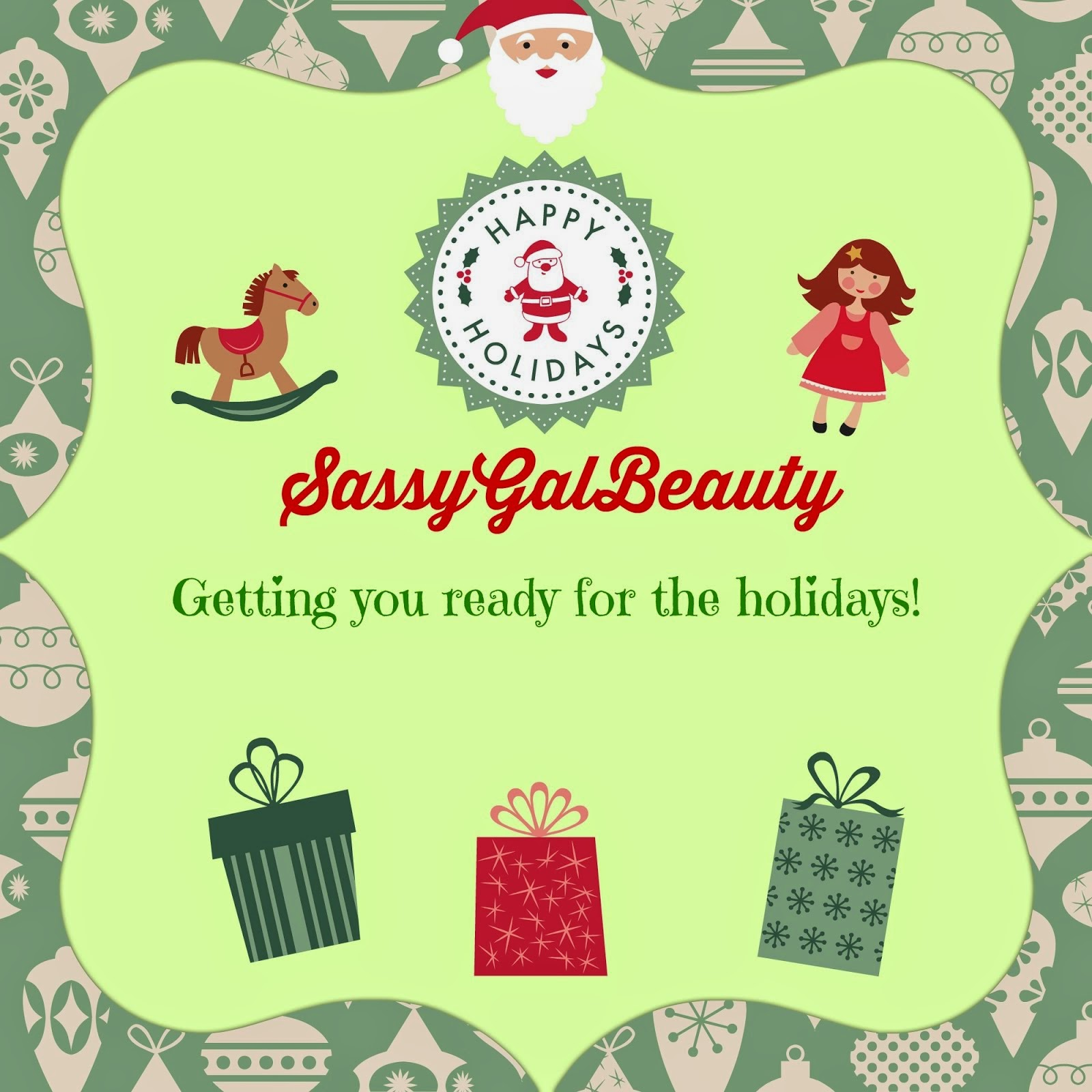 SassyGalBeauty Holiday Gift Guide 2014