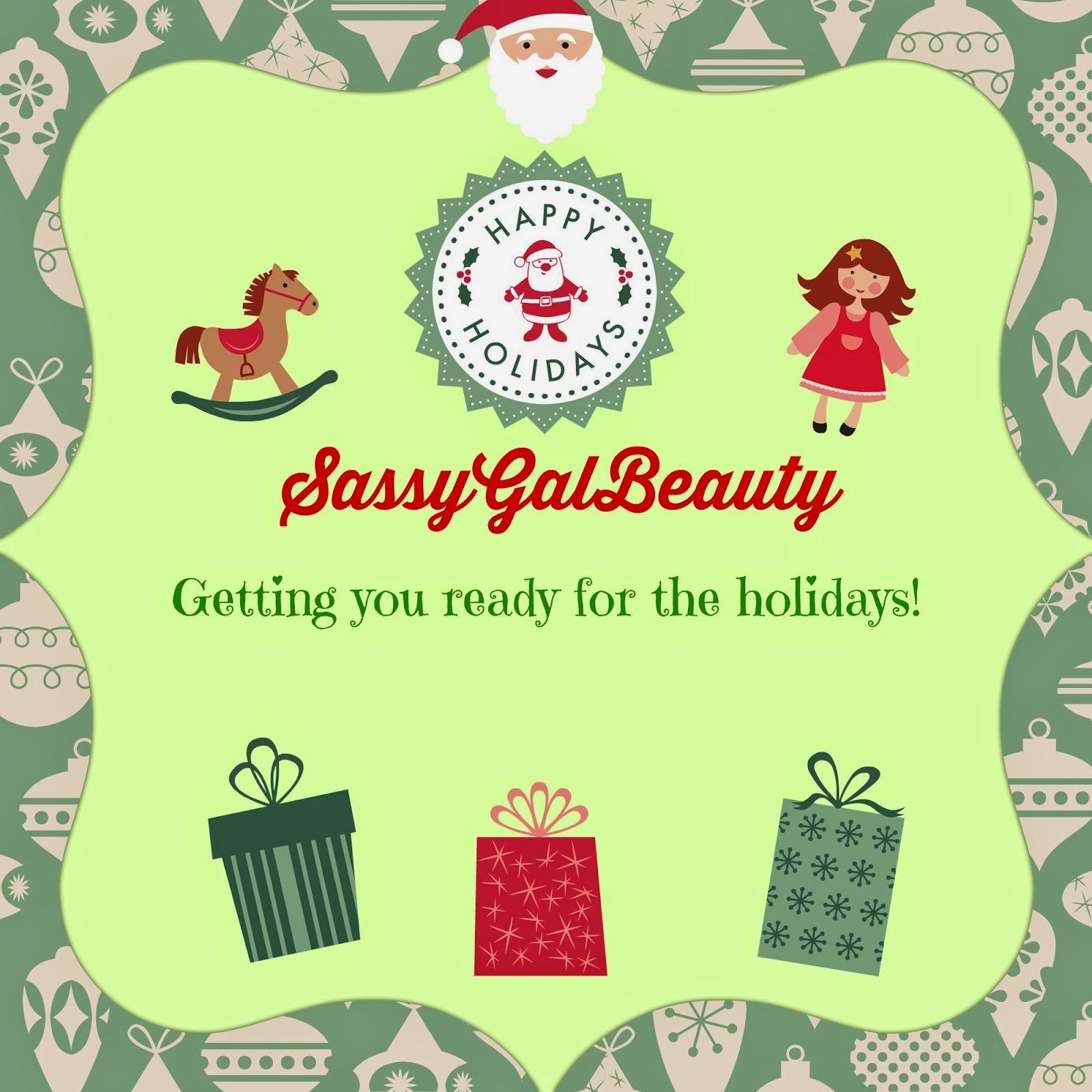 SassyGalBeauty SassyHolidays Gift Guide