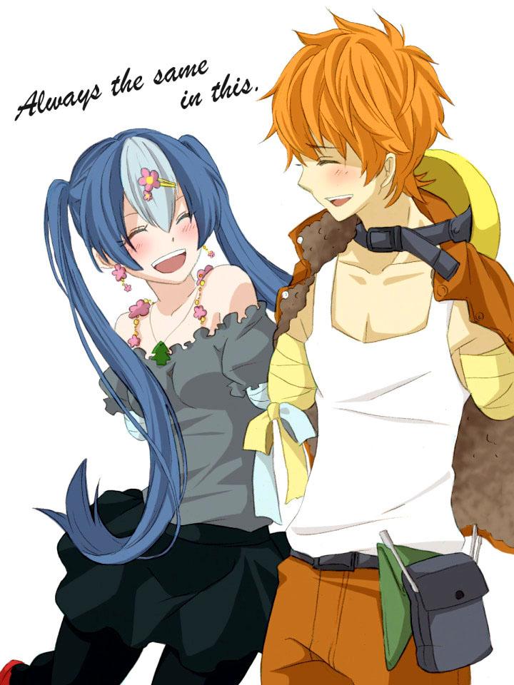 Anime Imut Couple
