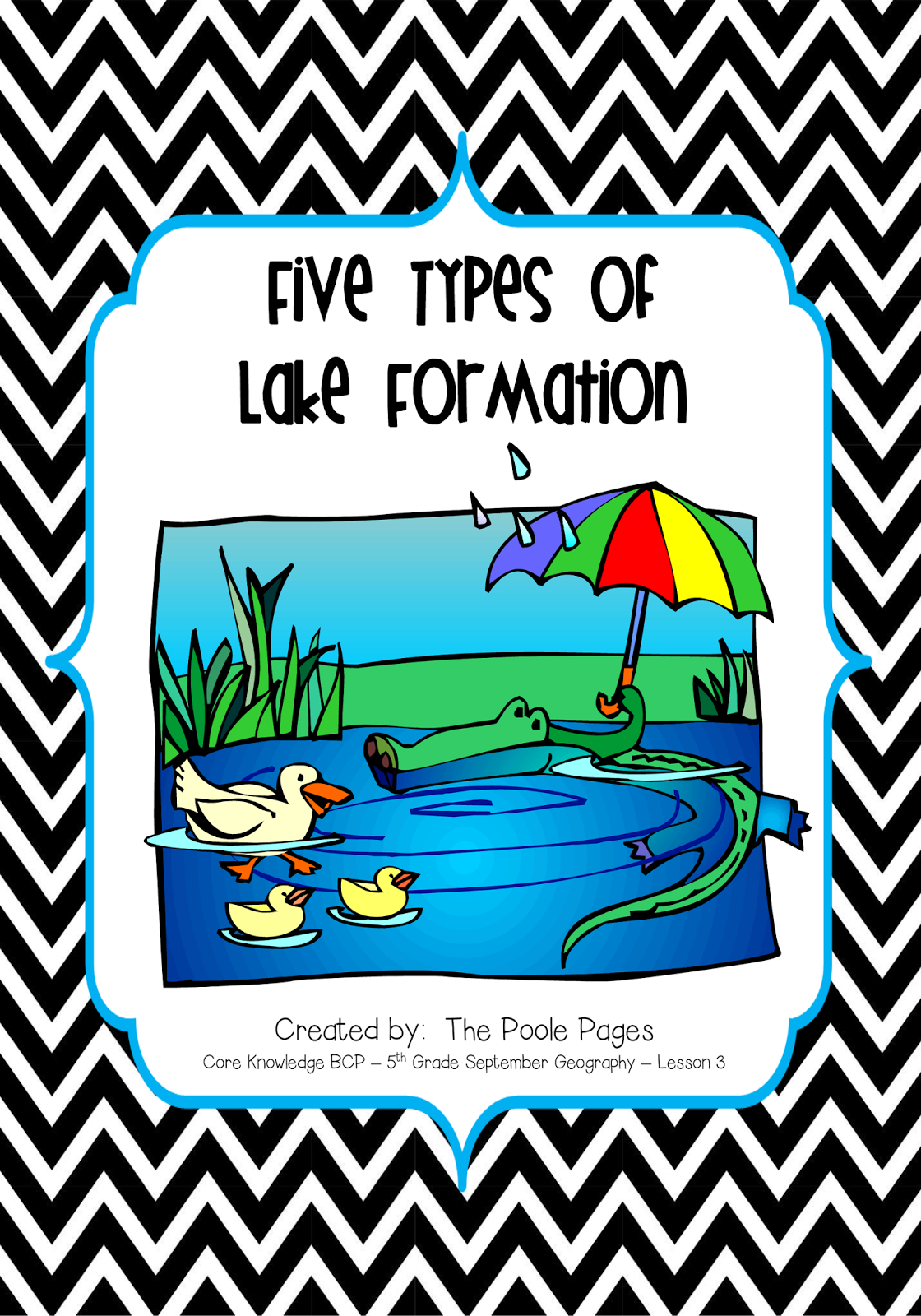 http://www.teacherspayteachers.com/Product/Five-Types-of-Lake-Formation-1335349